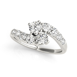 Better Together 14k white gold Diamond Engagement Ring