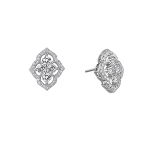 Lafonn Simulated Diamond Cluster Earrings