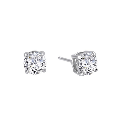 Lafonn Sterling Silver 1.50CTW CZ Stud Earrings