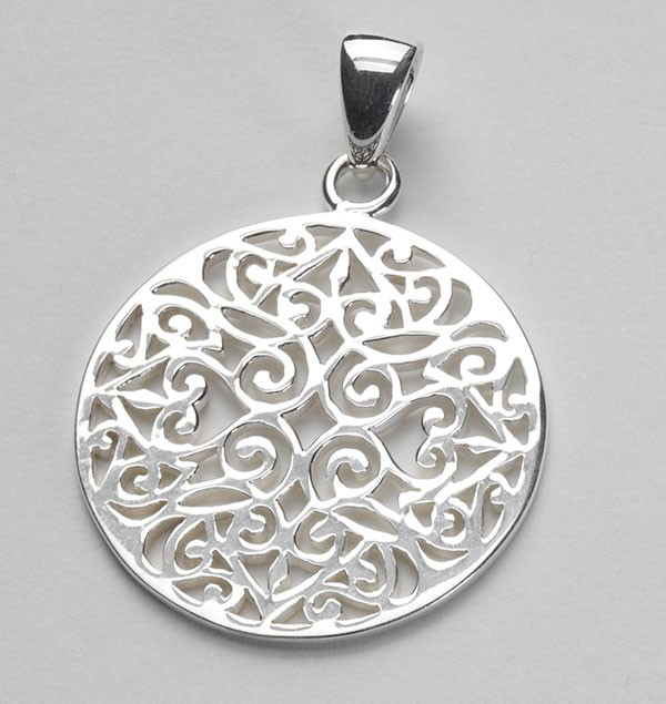 Southern Gates Original Scroll Pendant