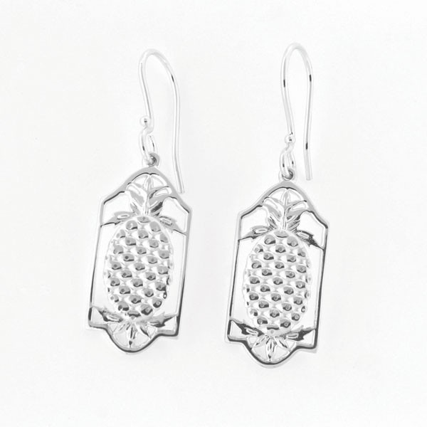 Southern Gates Pineapple Frame Earrings