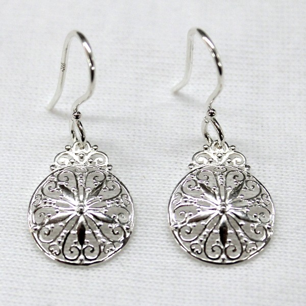 Southern Gates Sand Dollar Earrings