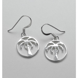Southern Gates Palmetto Tree Earrings