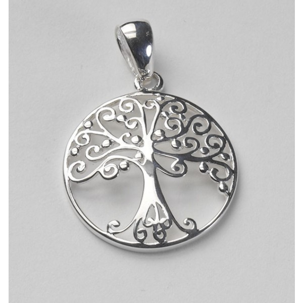 Southern Gates Sterling Silver Tree of Life Pendant