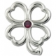 Sterling Silver Clover Lestage Clasp