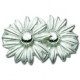 Sterling Silver Daisies Lestage Clasp