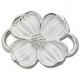 Sterling Silver Dogwood Lestage Clasp