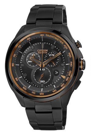 Citizen Drive Stainless Steel Black Ion Watch