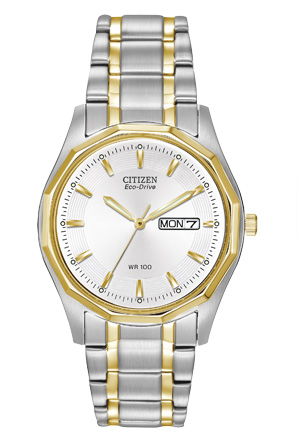 Citizen Eco-Drive Men%27s Silhouette Sport Watch