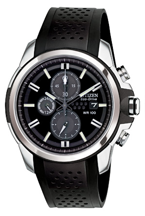 Citizen Drive Black Resin Watch