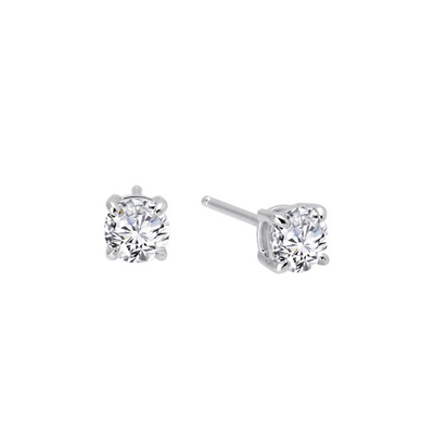Lafonn Round Cut Simulated Diamond Stud Earrings