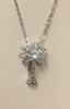 Diamond Palmetto Tree Pendant