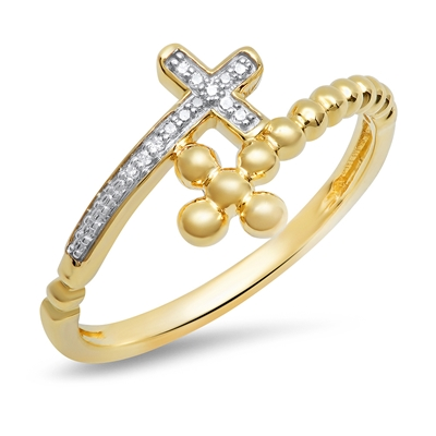 10k cross ring
